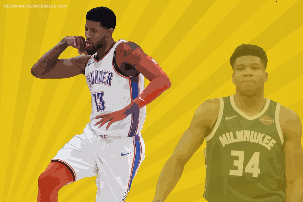 Vol 3 of my @NBA mvp ranks  are live! Make sure you check em out! http://bit.ly/2DH0Awn 🏀 #brose #30minlunchbreak #postgamepresser #media #podcast #sports #mvp #nba  #basketball #allstar #allstarweekend #rankings #nbatwitter @NBAAllStar #giannis #JamesHarden #paulgeorge