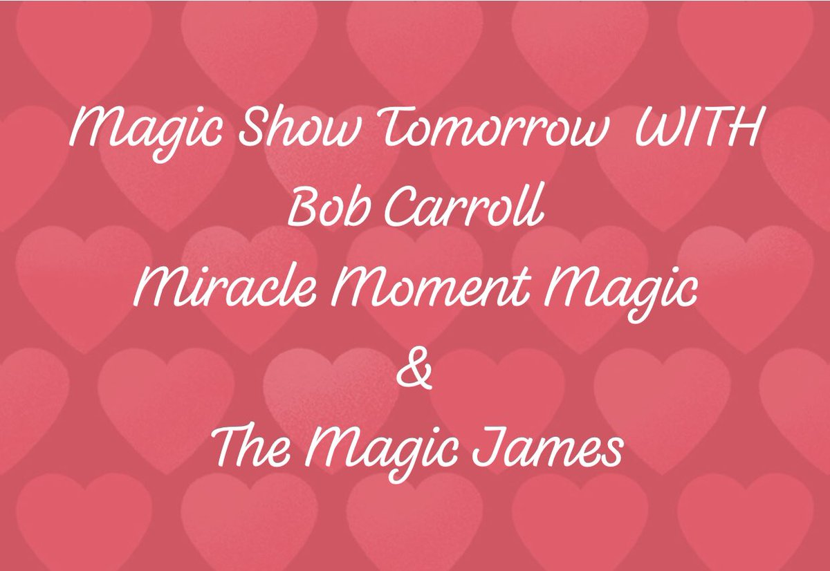 test Twitter Media - Magic Show Tomorrow with #bobcarroll @miraclemoment and #themagicjames in @hollywood at #skiptownplayhouse #redditmagic #magicshow #SaturdayNight #hollywood https://t.co/OddoCzr1rP