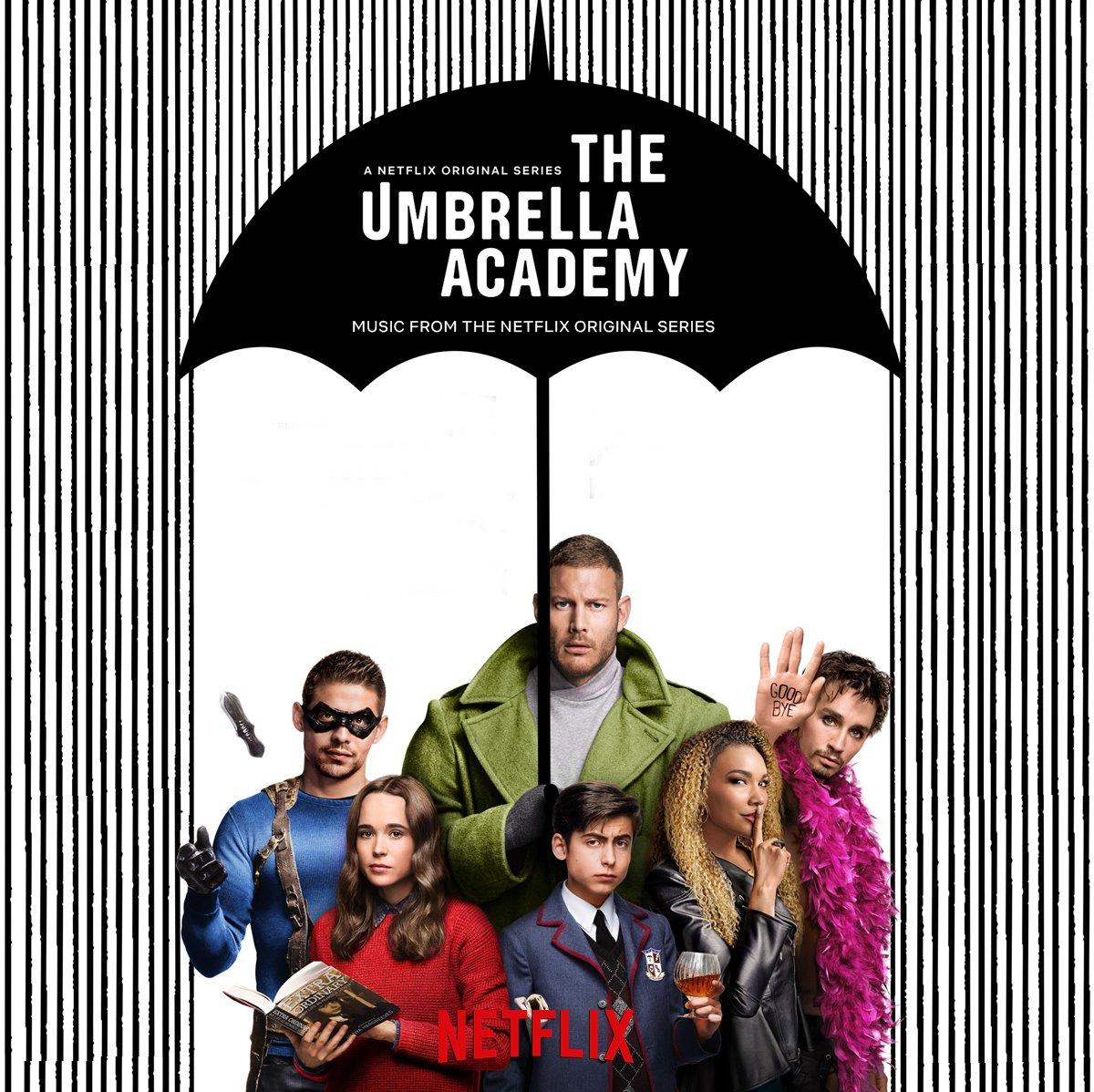 [COMPLETE LIST - ALL SONGS: SEASON 01]  The Umbrella Academy: Season 01 (Music from the Netflix Original Series) |  Playlist #TheUmbrellaAcademy     https:// open.spotify.com/playlist/106EU 2VSydl7lyUIysu6BU &nbsp; … <br>http://pic.twitter.com/luf3PhngMk