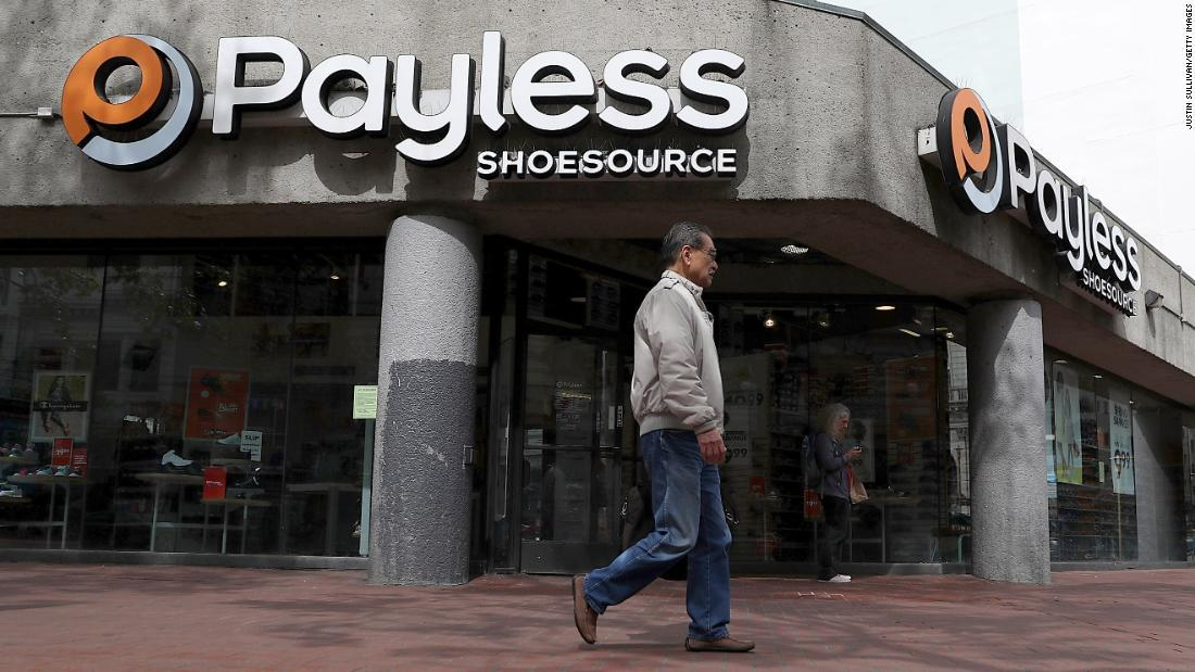 Payless is the latest retail chain to close up shop in the United States. The discount shoe store will close all 2,100 of its locations in the US and Puerto Rico in the coming months, a spokesperson says https://cnn.it/2EelK6E