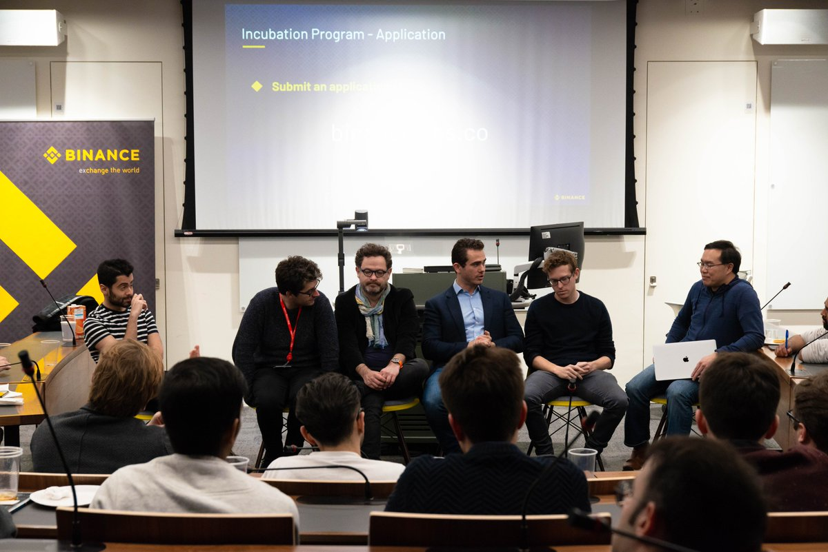 Thank you to everyone that joined us in London, England for a #Binance Labs meetup! #BinanceIsGlobal  Top blockchain projects still have until Feb 28th to apply for the @BinanceLabs Incubation Program.   Apply here: https://www.binancelabs.co/    Lets #BUIDL the future together!