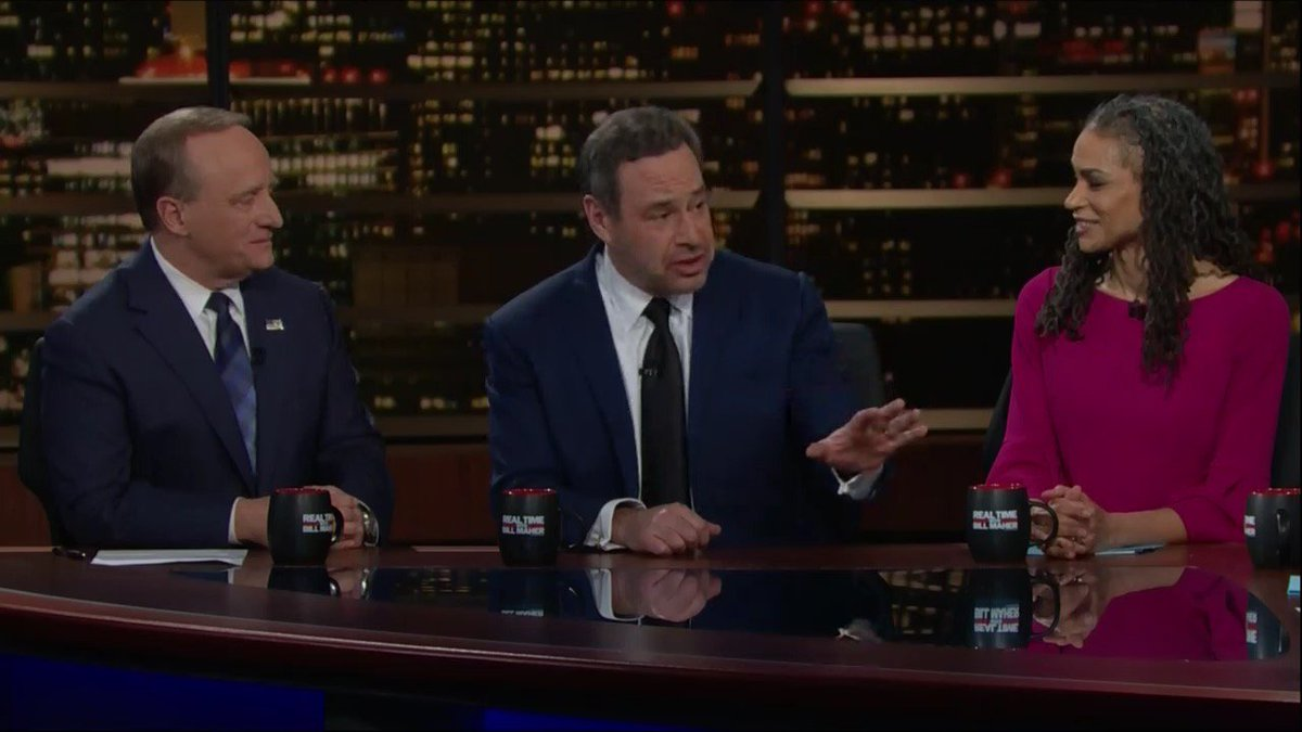 'I know, for you, this is a hair-on-fire moment. But actually, the president lit his own hair on fire and there's a lot of hairspray there. He will so regret this.' – @davidfrum  #RealTime