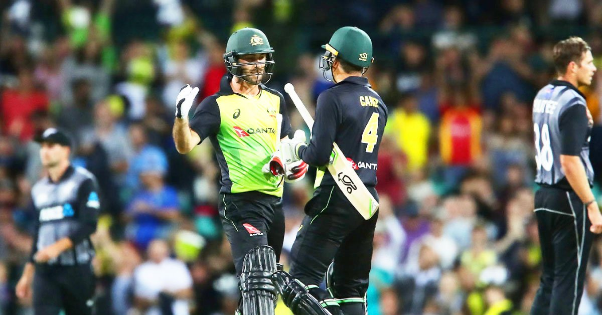 #OnThisDay In 2018, Australia pulled off a world-record T20I chase, 245 for 5, in Auckland against New Zealand in a match where thirty-two sixes were hit in all, nine of them by Martin Guptill, who finished on 105.