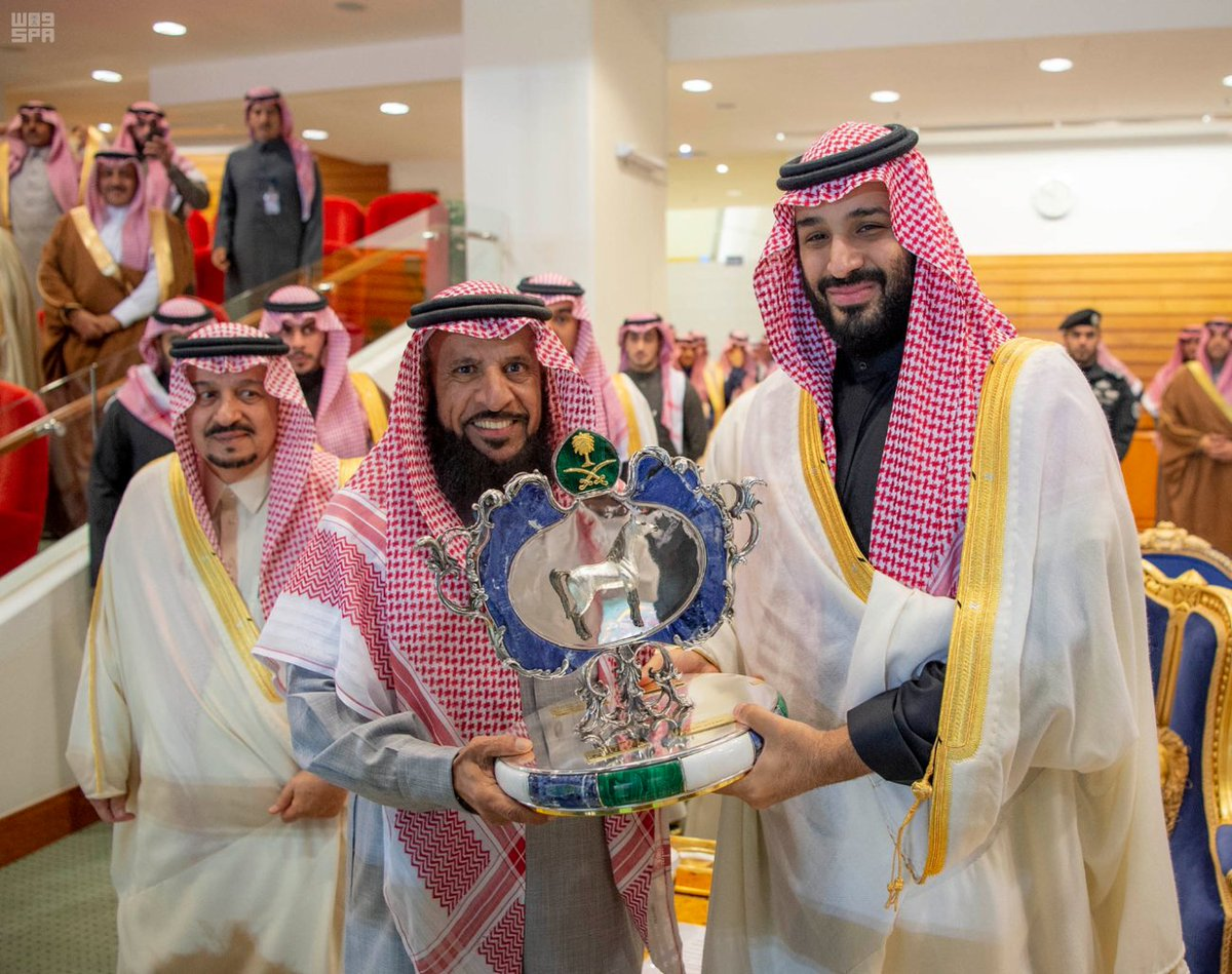 #Saudi Crown Prince Presides over Equestrian Club's Grand Annual Horse Race https://t.co/OysORSmTX1
