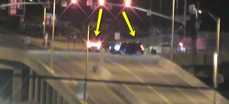 L-101 northbound, off Maryland Avenue exit: Watch out for crash in the intersection. #PhxTraffic #aztraffic