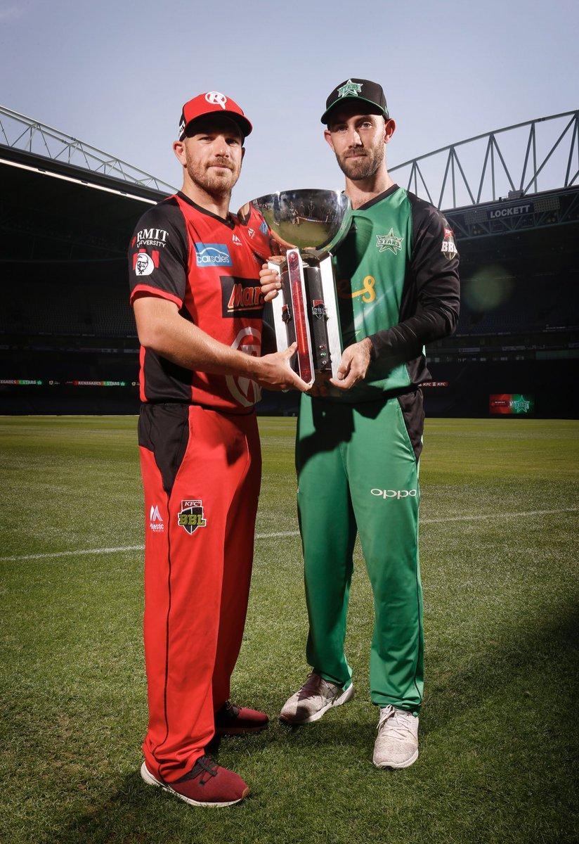 Nearly 30,000 tickets sold for tomorrow's @BBL final, with @RenegadesBBL versus @StarsBBL at @EtihadStadiumAU set to be one of the biggest Melbourne Derbies in @BBL history! Tickets are still available at  https://t.co/db7FFG8bQD