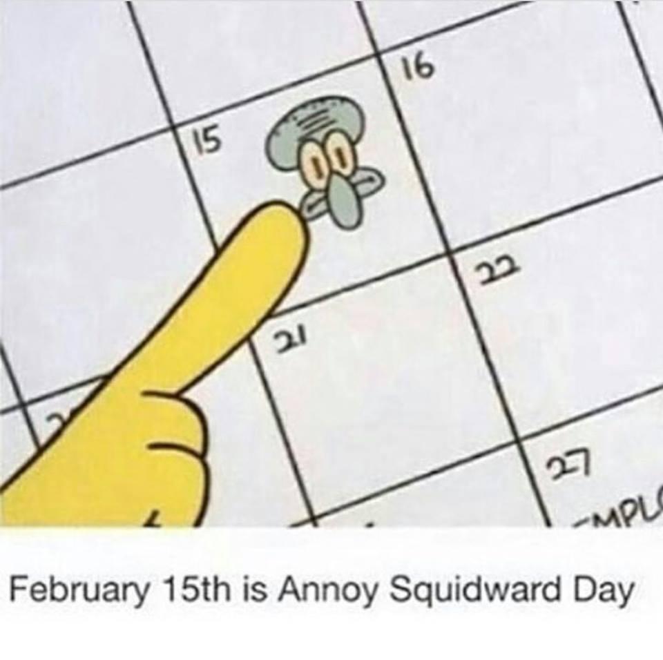 #Friday #Feb15 #SpongeBob