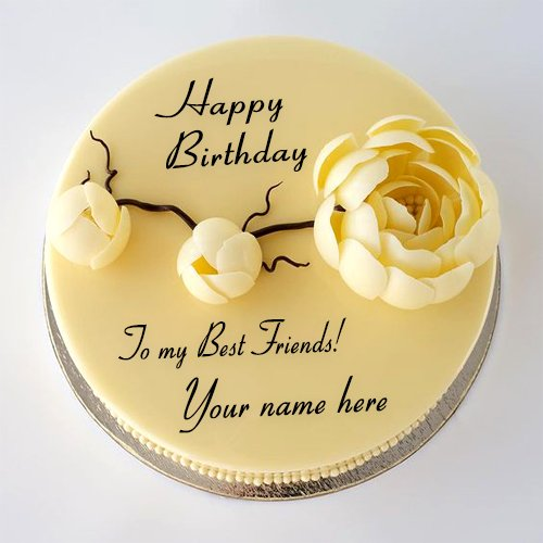mynamepixindia Write Your Best Friend Name On Birthday Cake Images