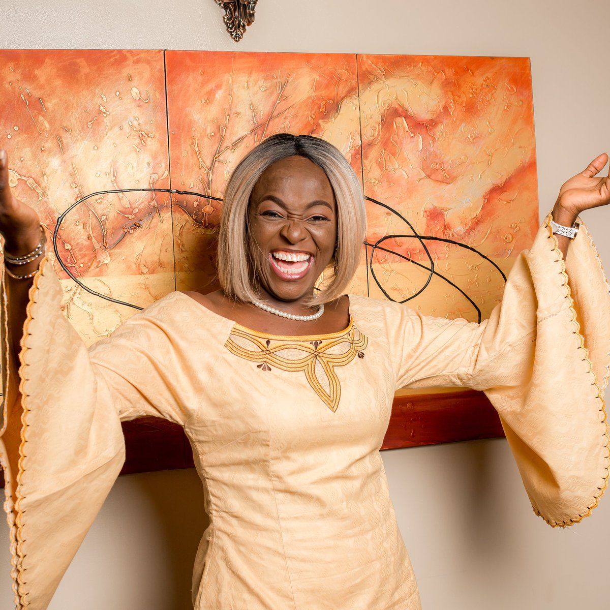 This is me rejoicing cos I won today&#39;s elections. The election scheduled for 23rd February 2019 concerns me only to the extent that #BuhariMustGo! And the person who can send him back to his village is @atiku. I&#39;m so committed to sending @MBuhari away that I pick #Atiku to help!<br>http://pic.twitter.com/1BLTohILF1
