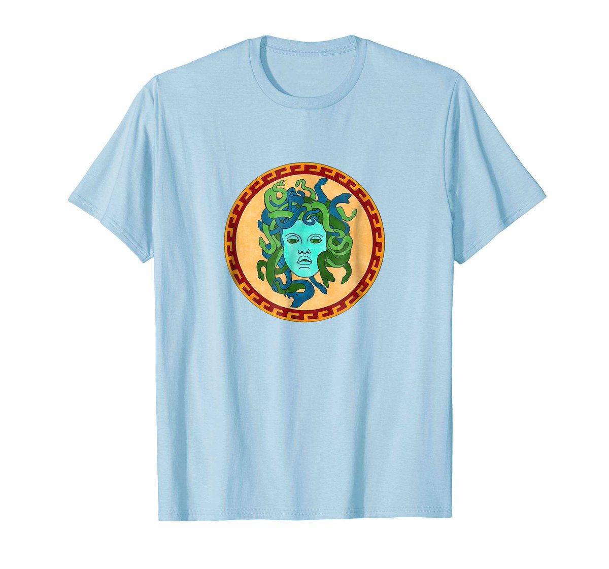 Poison Design - Medusa Gorgon Face Greek Mythology Poison Design https://amzn.to/2TdluJY  Get this awesome Tshirt @Amazon @Society6Max @AmazonMerchRTs #Medusa #mythology #greece #greeks #hercules #ancient #coin #tee #gift #tshirt #art #handmade #rt #FridayMotivation