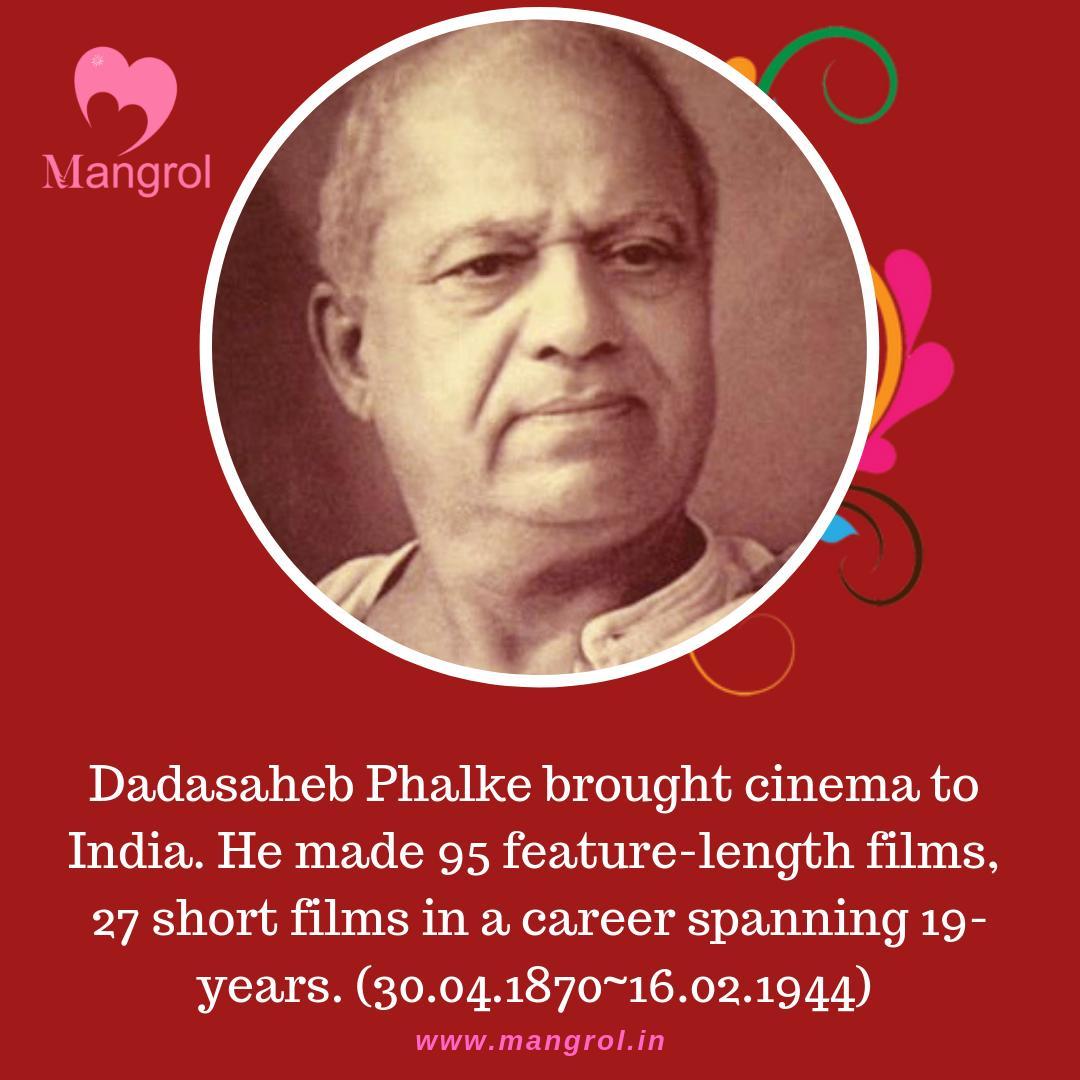Hailing for a humble family, Dhundiraj Govind Phalke, aka#Dadasaheb Phalke pursued his #dream like none other.Bringing #cinema to #india was his ultimate #ambition.. #Bollywood #Cinema #indianfilms #passion #life #art #creativity #bigscreen