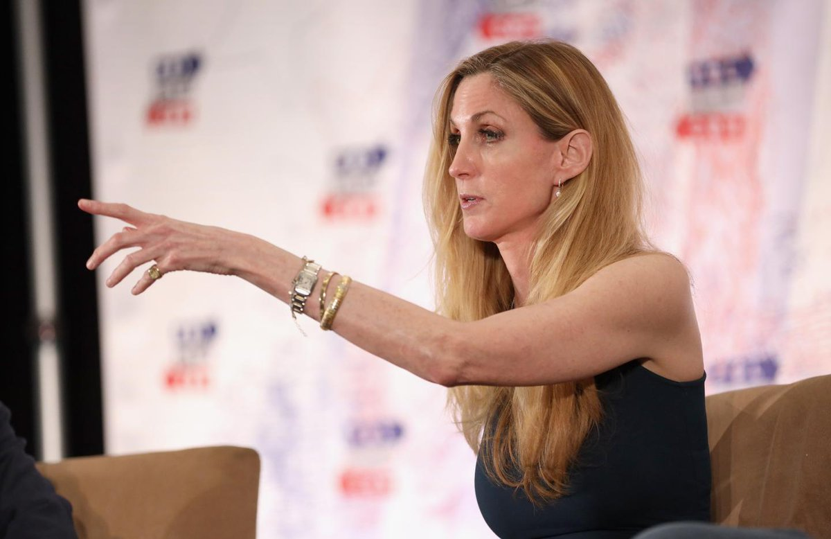 """Ann Coulter says Donald Trump is trying to """"scam the stupidest people in his base"""" with a national emergency https://trib.al/DiJNFst"""
