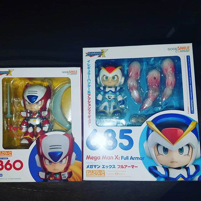 Oh Blue Bomber, I has the best girlfriend❤☺❤ a HUGE Mahalos to my Ku'uipo @wetsakuranbo for my amazing Valentine's Day gifts.  #ValentinesDay #HappyValentinesDay #BestGirlFriend #ILoveYou #SuperLoved #Love #SoHappy #Capcom #MegaMan #MegaMan30thAnnive… http://bit.ly/2BOnVMP