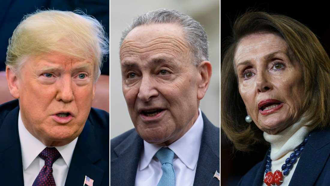 "Democrats condemn emergency declaration: ""Congress cannot let the President shred the Constitution"" https://cnn.it/2SFj0rE"