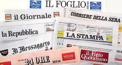 La pace tra Italia e Francia con l'invito di #Macron a #Mattarella sui giornali di oggi nella nostra foto #rassegnastampa →  https://t.co/qSFVYhO5D1