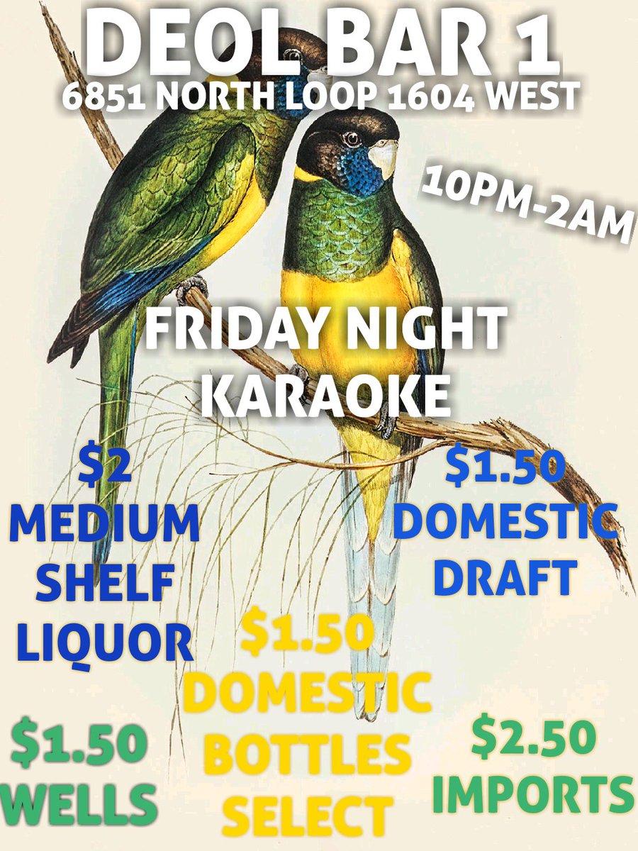 2 MORE HOURS TO GET LIT AT DEOL BAR FRIDAYS  #NBA #lit #fun #turnup #VIP #music #drinking #shots #BirdsUp #UTSA #UIW #OLLU #STMARYS #SANANTONIO #UTSAALUMNI #sanightlife #BEER #love #fashion #bartender #squad #SquadGoals #DJs #karaoke #TGIF #Friday #party #nightlife #partytime #SA