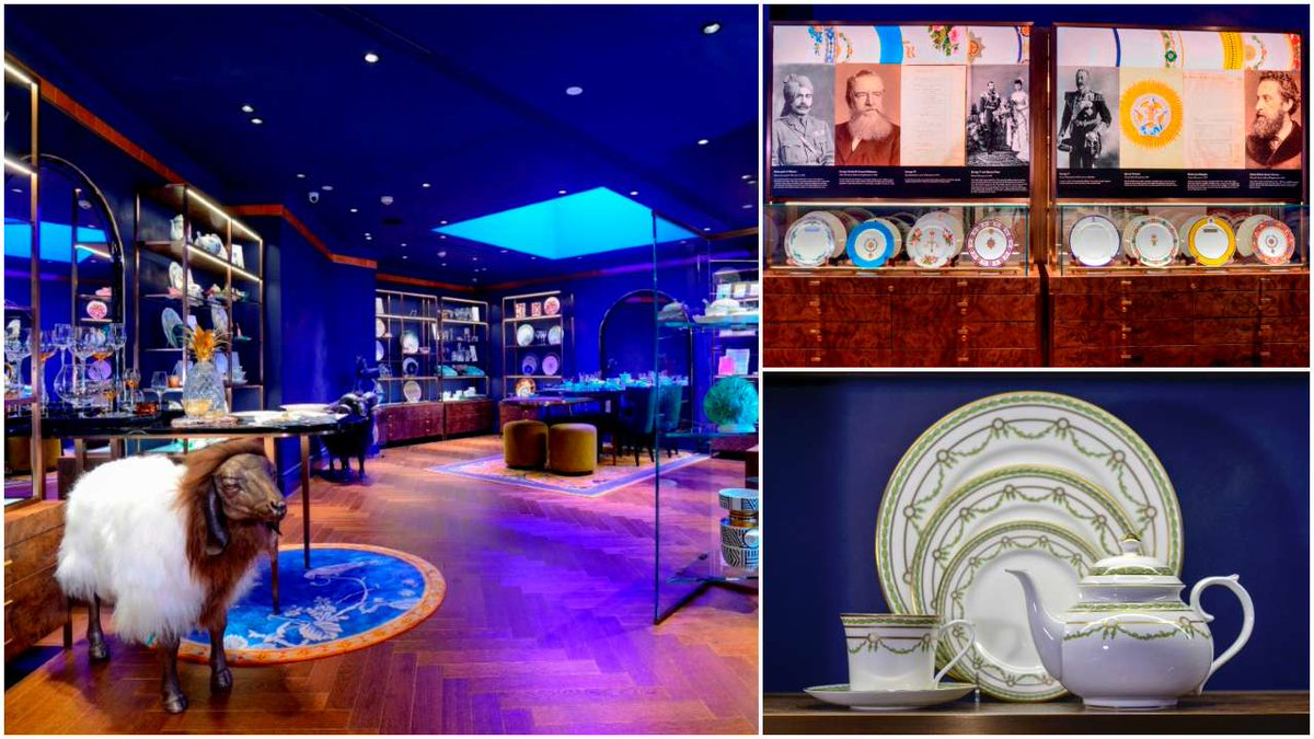 Check out Thomas Goode & Co's new boutique and museum at the Oberoi Hotel in Mumbai http://dnai.in/fWDY reports @dandydujour