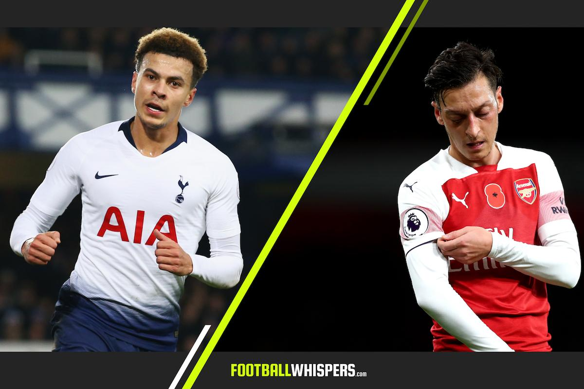 Evolution of the No.10: How Dele and the new breed render Özil a relic #COYG #AFC http://ow.ly/iH3z101smzS