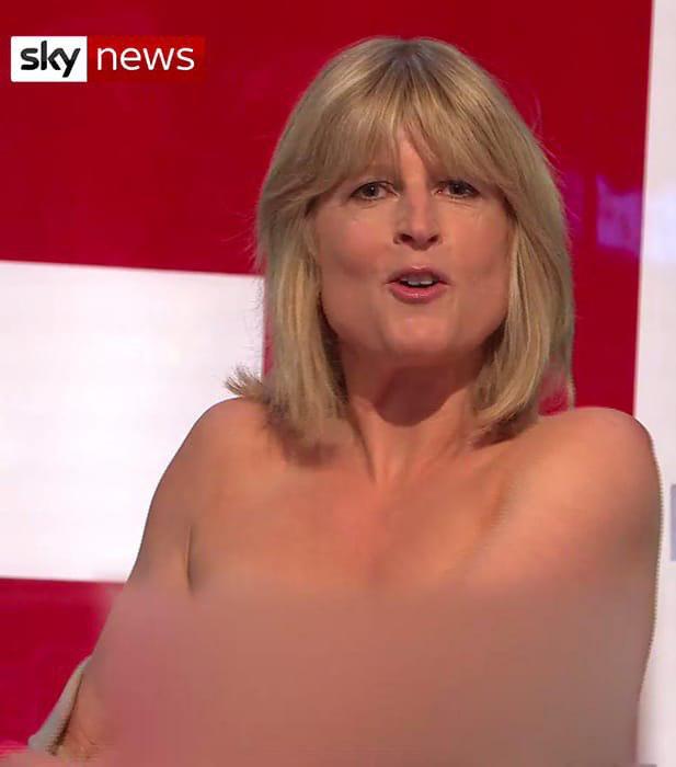 Сестра Бориса Джонсона оголилась в эфире Sky News.  Таким образом она повторила действия Виктории Бейтман, экономистки из Кембриджа и противницы выхода Великобритании из ЕС, которая в одном из эфиров проделала то же самое, «чтобы ее услышали».