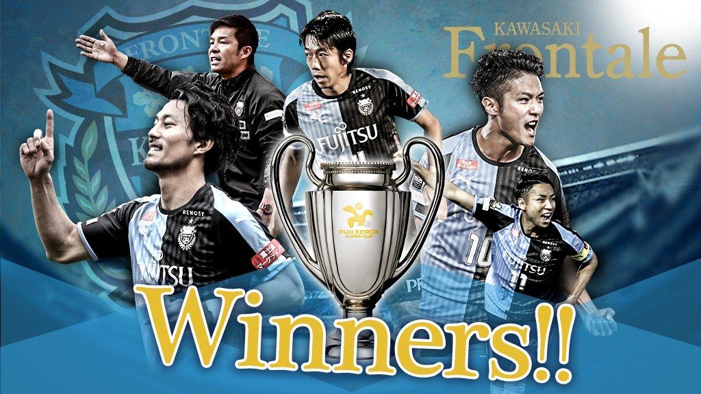 🐬🏆 WINNERS🏆🐬  FUJI XEROX SUPER CUP 2019を制したのは、 #川崎フロンターレ ‼️  @frontale_staff  #Jリーグ #Jリーグ開幕開幕 試合結果はこちらhttps://t.co/SyqxyOp9wg👇