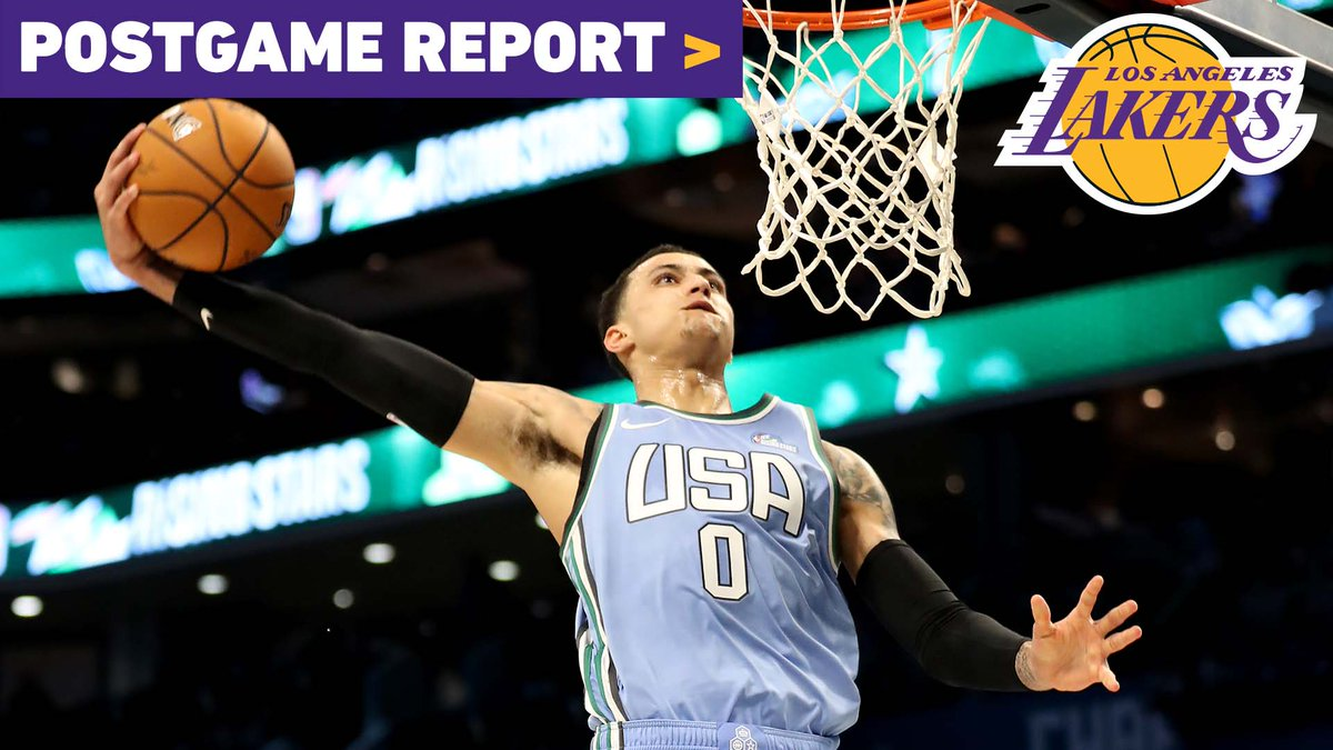 🔥 Kuzmania took over night one of All-Star Weekend 🔥  @JoeyARamirez breaks down Kuz's 35-point night that ended with the Rising Stars MVP trophy.