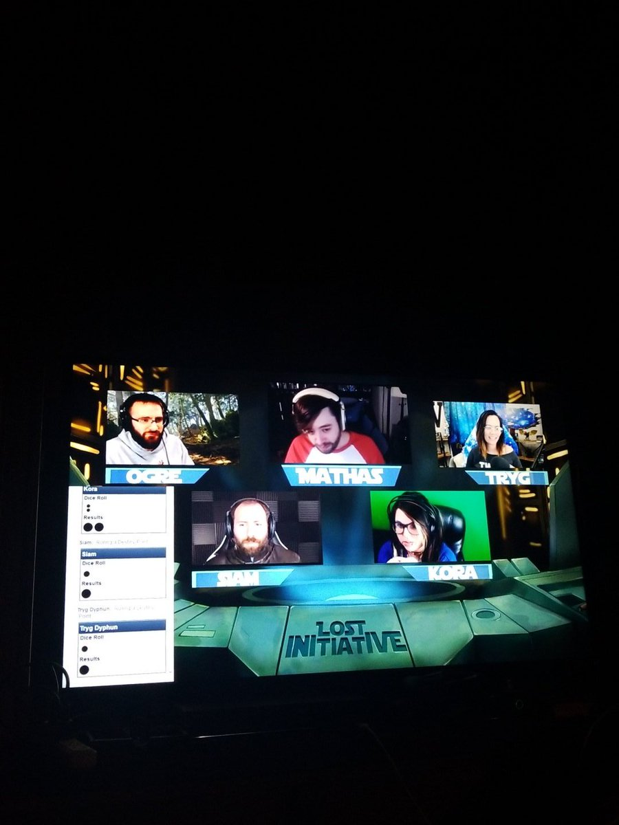 Catching up on a whole season worth of star wars dnd on @LostInitShow. Time well spent if you ask me