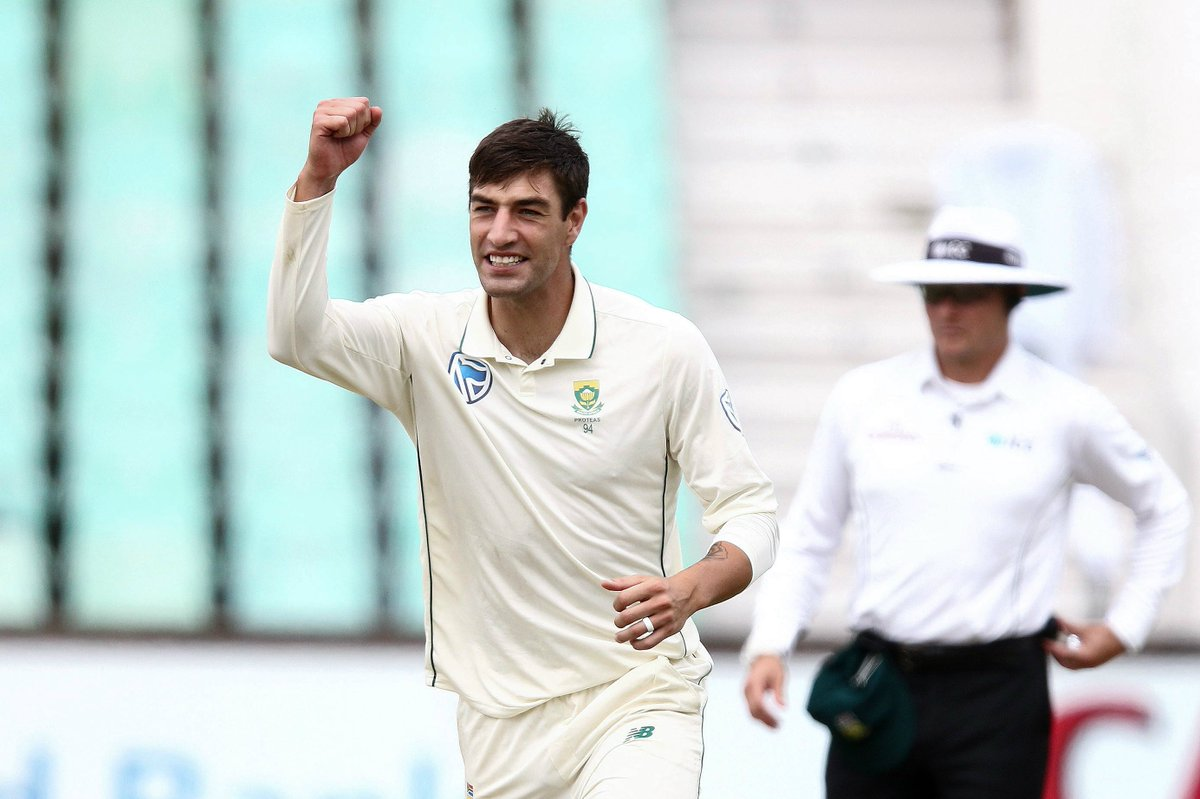 'I think we'll get rewarded at the end' – Duanne Olivier is confident South Africa can win the Durban Test.  #SAvSL REACTION ⬇️  https://t.co/ahHqbIUMy2