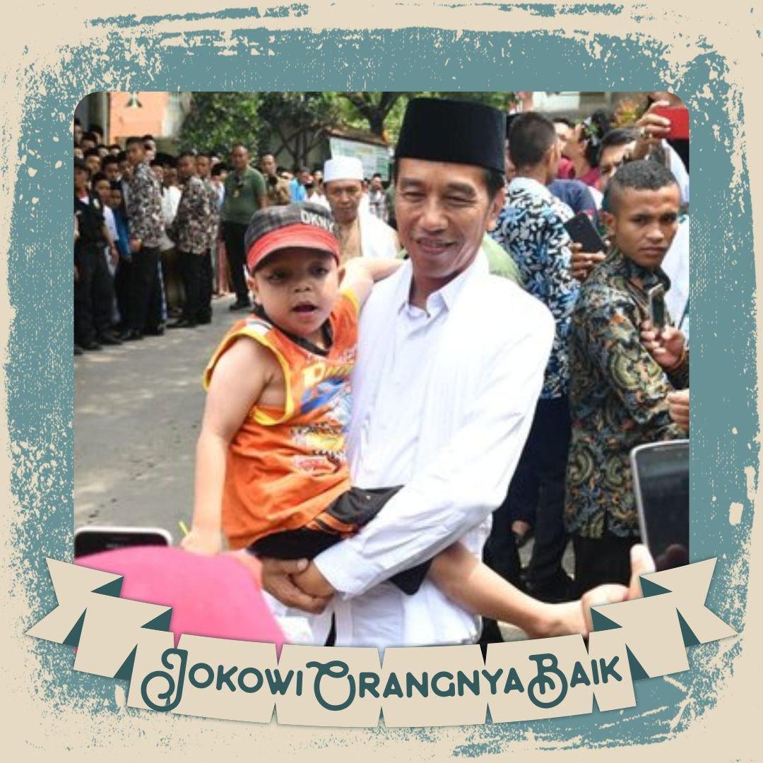 #JokowiOrangnyaBaik