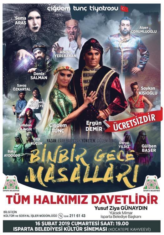 Bugün saat 19.00 Kültür Sineması  TÜM HALKIMIZ DAVETLİDİR