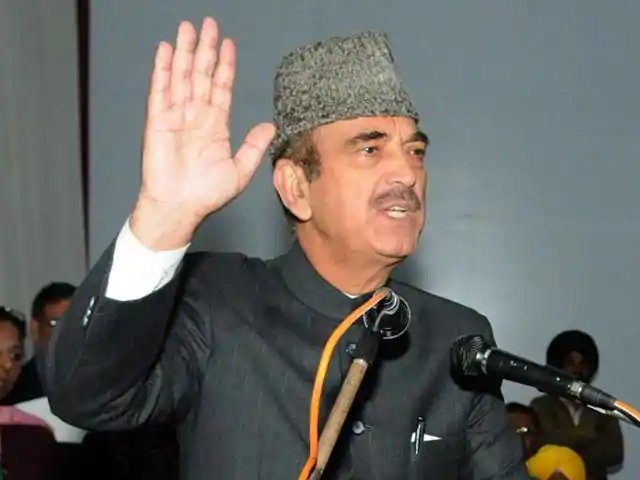 """We stand with the government for unity and security of the nation and security forces. Be it Kashmir or any other part of the nation, Congress party gives its full support to the govt in the fight against terrorism"": Congress' Ghulam Nabi Azad. ANI   #PulwamaTerroristAttack"