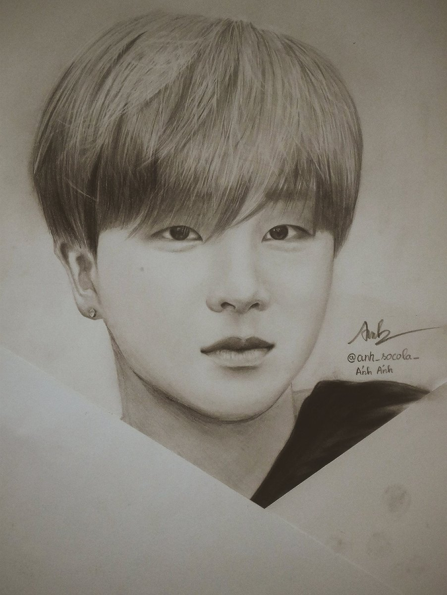 Hmm... Who is next?? #ikon #jinhwan #junhoe #hanbin #Yunhyeong #donghyuk #chanwoo #bobby #yg #ikonic #fanart #fanartikon #art #artist<br>http://pic.twitter.com/aNdSniRukp