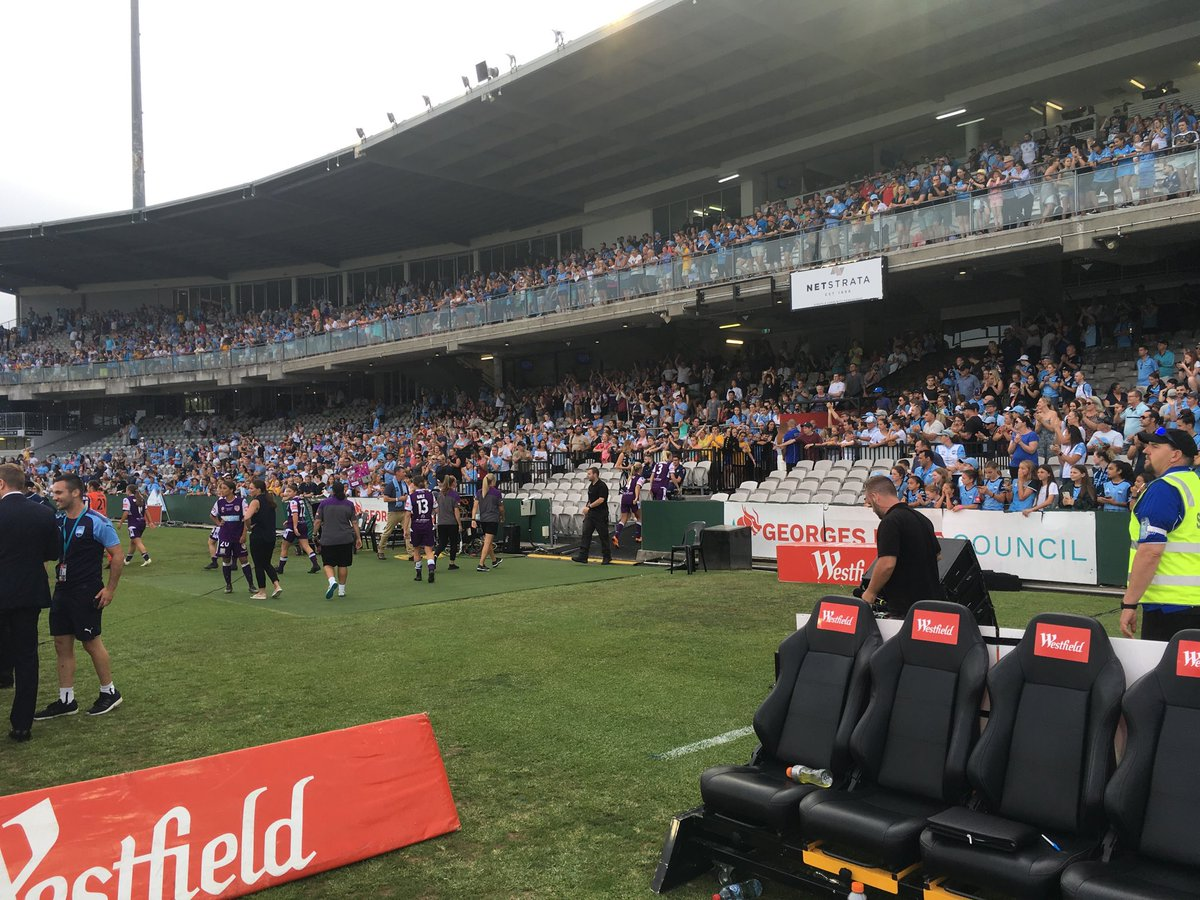 A huge thank you to all our members and fans who made the trip over to Sydney. Your support was magnificent 👏👏👏👏👏👏👏👏👏👏 @WLeague  #OneGlory