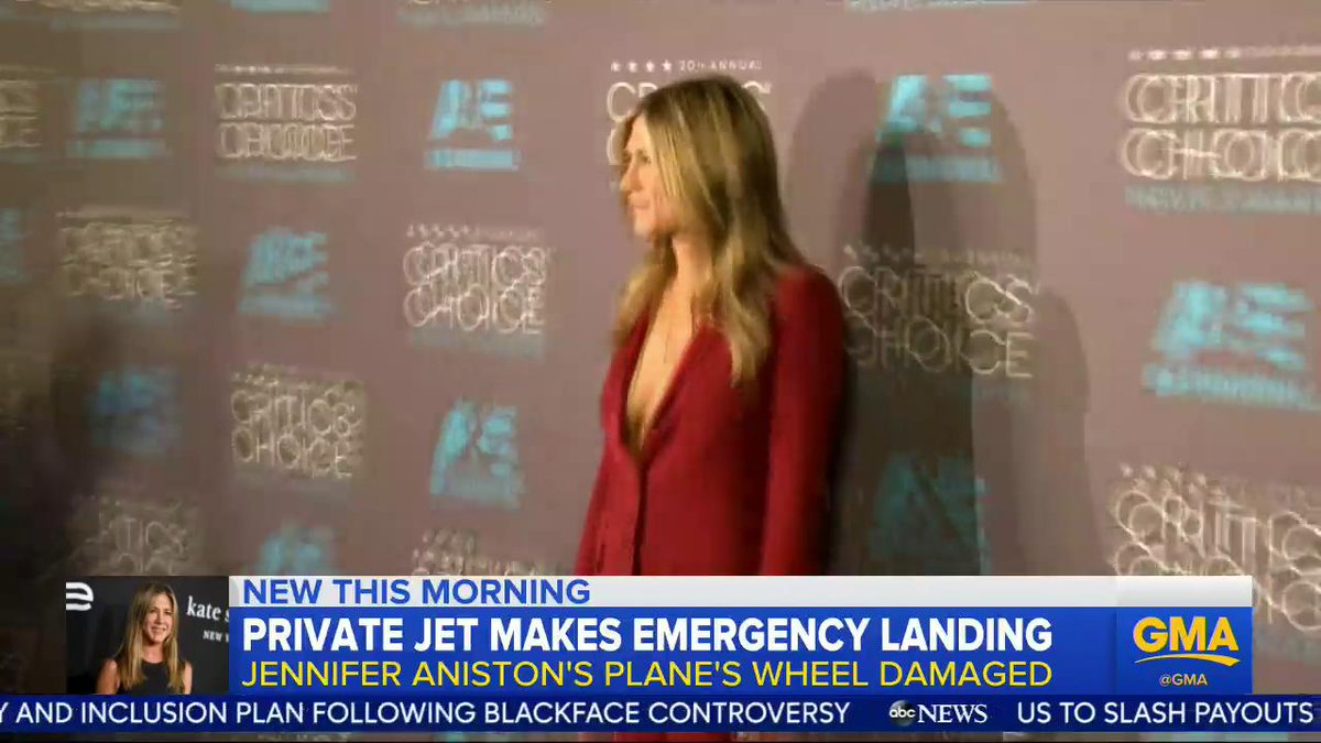 Good Morning America's photo on Jennifer Aniston
