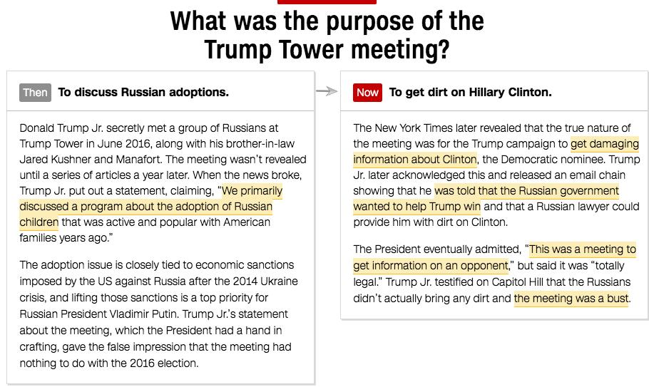 How Team Trump keeps changing its story in the Russia investigation cnn.it/2DIj53G