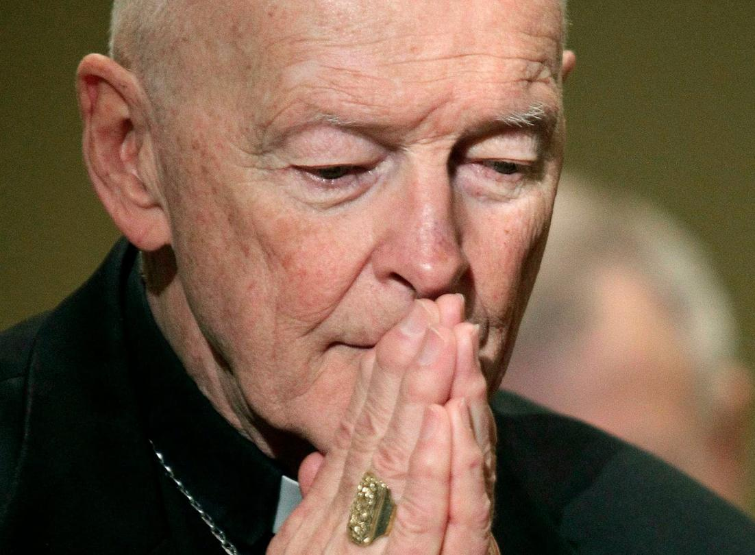 "Ex-cardinal Theodore McCarrick defrocked by Vatican for  soliciting sex during Confession, and committing ""sins"" with minors and adults. Historic punishment in modern history of Roman Catholic Church.  https://t.co/dbsbaqzVaz"
