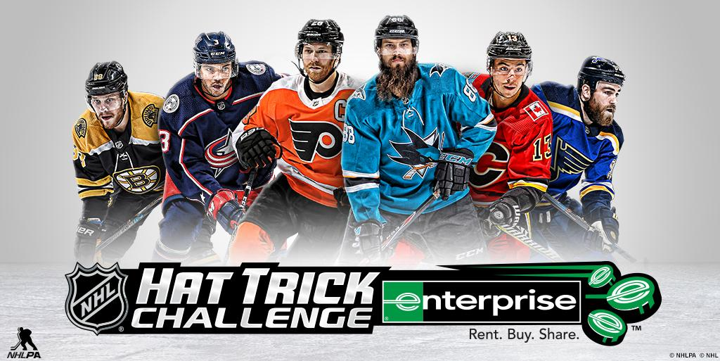 You any good at this? Play the #NHLHatTrickChallenge: hattrick.nhl.com