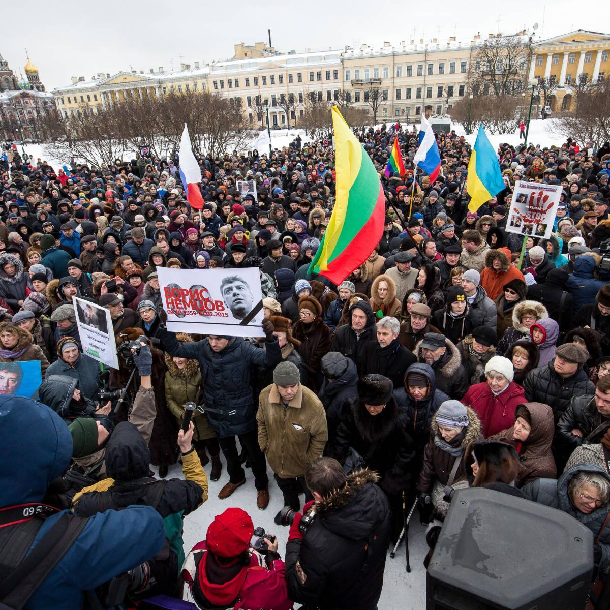 всего ассортимента фото с митинга бориса немцова в санкт петербурге заявки