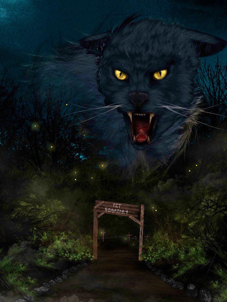Happy #CaturdayPet Sematary <br>http://pic.twitter.com/d5CWtfmhPU