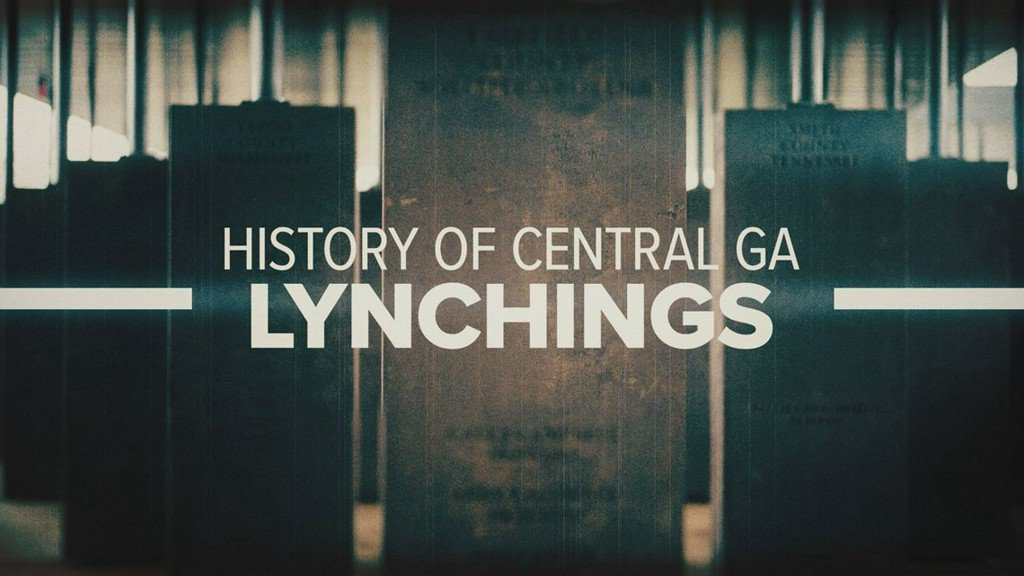 'Let their history be told:' History of Central Ga. lynchings https://t.co/56CJ7ndwq1