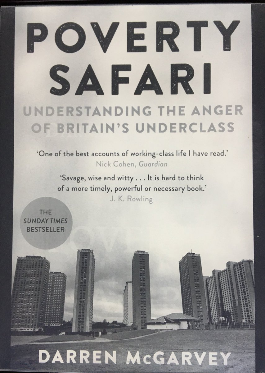 RT @traceyjweller: I really loved @lokiscottishrap book Poverty Safari. If you work on social inclusion projects in the cultural sector, you really need to read what he has to say on the poverty industry #amreading