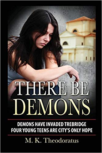 RT @iMoGalore: There Be Demons, a dark #YA #fantasy #paranormal #urban Thrilling tales of magic, demons & discovery. Demons stalk the city of Trebridge. How can Britt and her friends survive? https://amzn.to/2xhIYVo by M. K. Theodoratus #ContentMoSharin…