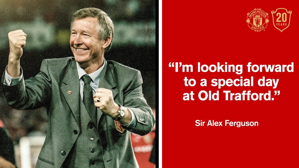 Who else can't wait to see Sir Alex back in the dugout? #Treble99