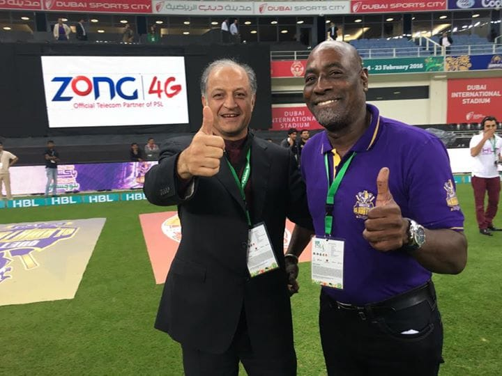 The legend Vivian Richards is due to re-join the Quetta Gladiators as a mentor in the next couple of days.  #PSL2019 #PSL4