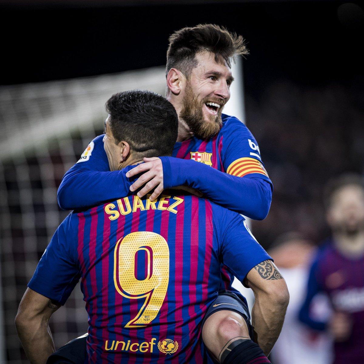 🔥 MATCHDAY! ⚽ FC Barcelona v Real Valladolid 🏆 @LaLigaEN  🕘 8.45 pm CET 📍 Camp Nou 📲 #BarçaValladolid 🔵🔴 #ForçaBarça!