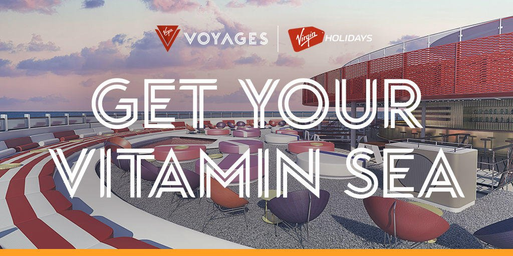 Ahoy Sailors! @VirginVoyages is now available to book at @VirginHolidays. Give us a visit at Virgin Holidays in the upper Red Mall ⚓️