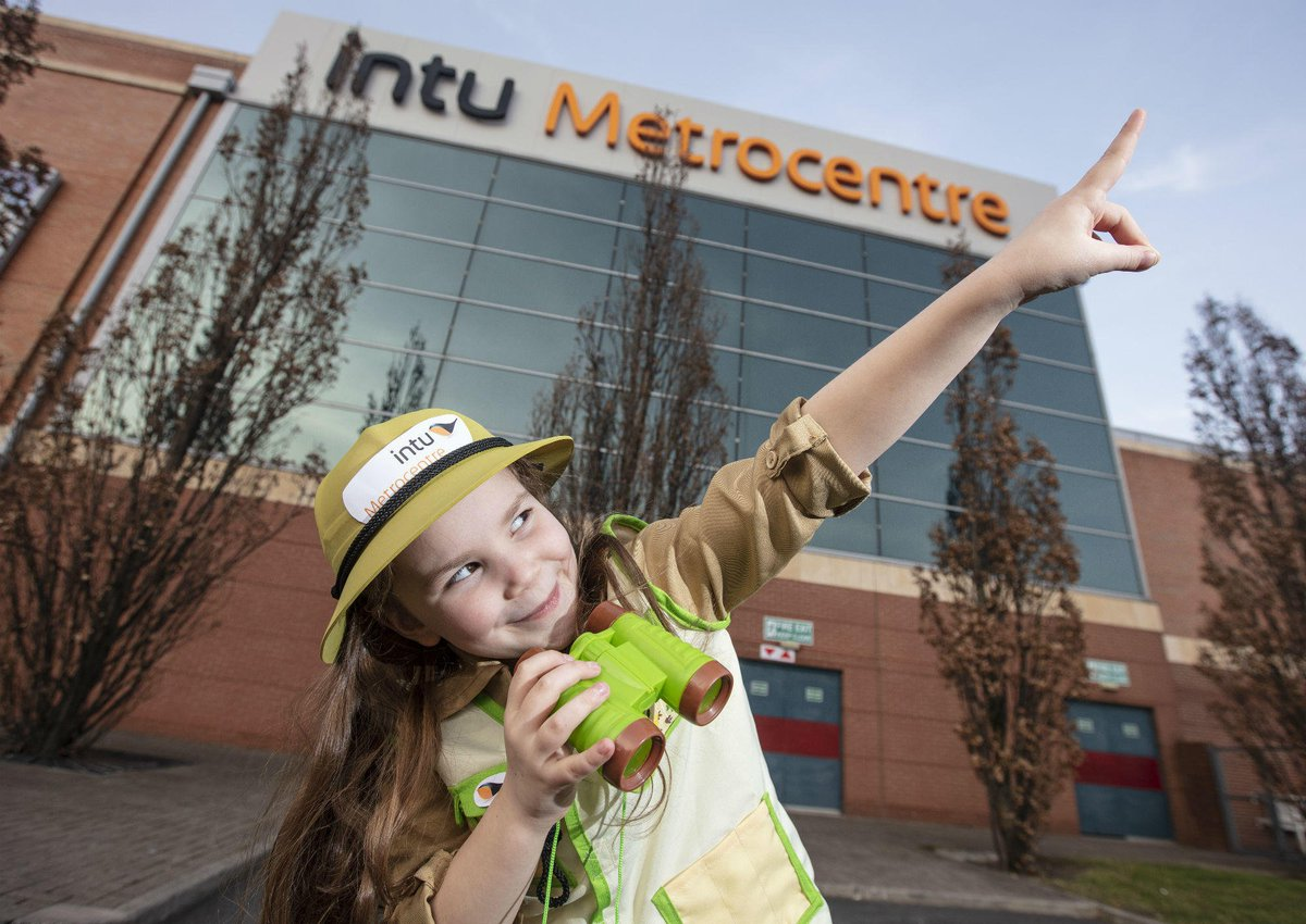 Join us for free fun throughout the half term and search for the giant bugs at intu Metrocentre 🐝🦋🐛  Find out more 👉 http://fal.cn/iVT0