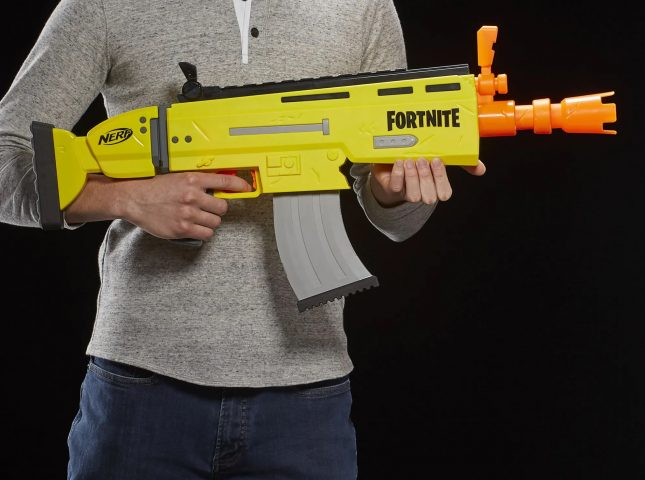 Nerf : Une gamme de jouets Fortnite s'invite chez Hasbro https://t.co/sdBK2bmcfO