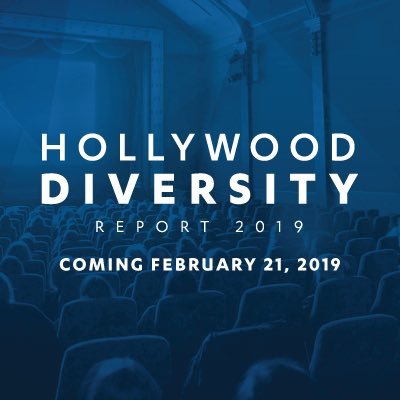 Check out the UCLA Hollywood Diversity Report 2019 on Thursday, February 21st. 🎬📺🎥💰
