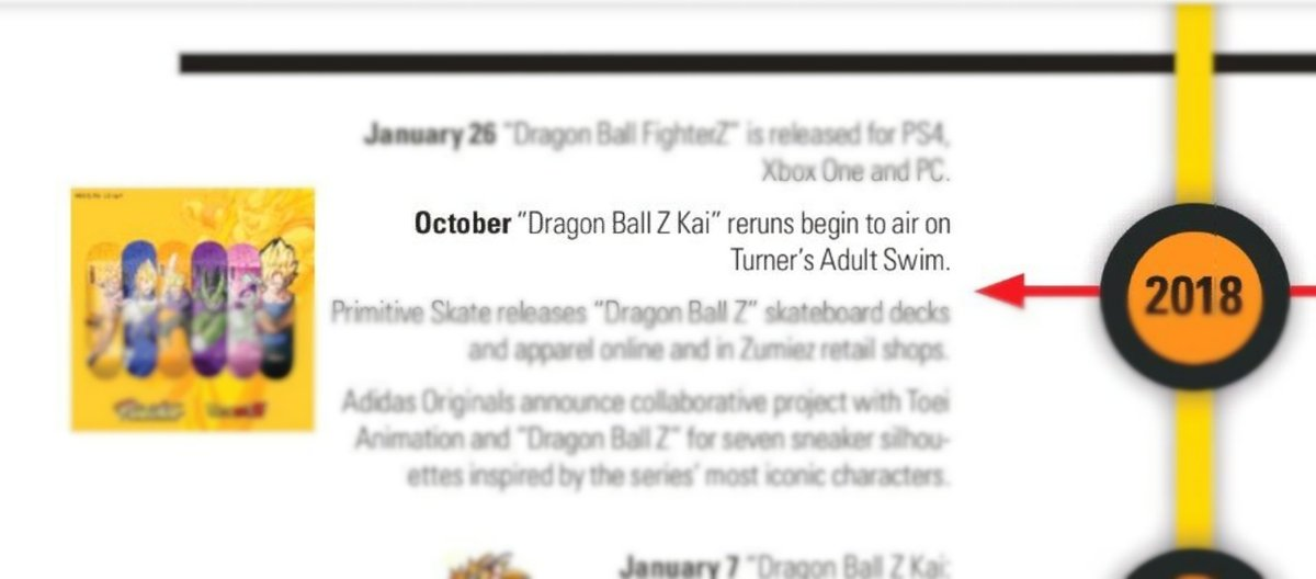 I&#39;m really glad how #dbzkai &#39;s continued exclusive availability with Adult Swim is featured as part of it&#39;s &quot;Dragon Ball Z Through The Years&quot; timeline by @ToeiAnimation<br>http://pic.twitter.com/PKjnC2rOWE