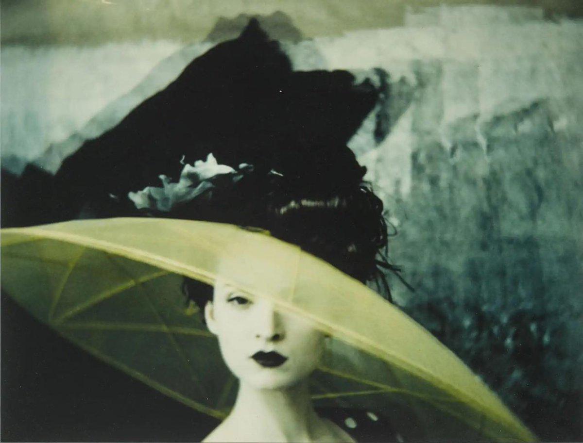"""Chapeau""    –––––    By    © Sarah Moon    1996"
